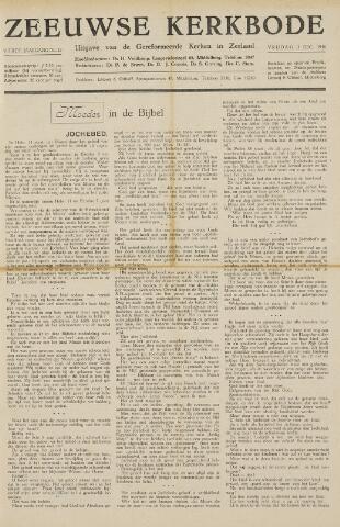 Zeeuwsche kerkbode, weekblad gewijd aan de belangen der gereformeerde kerken/ Zeeuwsch kerkblad 1948-12-03