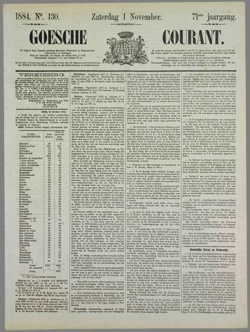 Goessche Courant 1884-11-01