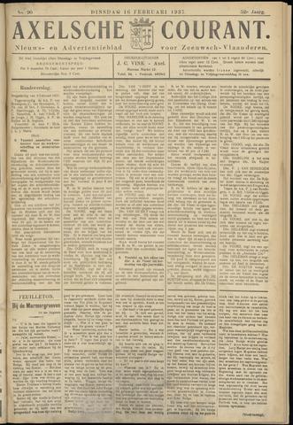 Axelsche Courant 1937-02-16