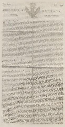 Middelburgsche Courant 1771-11-30