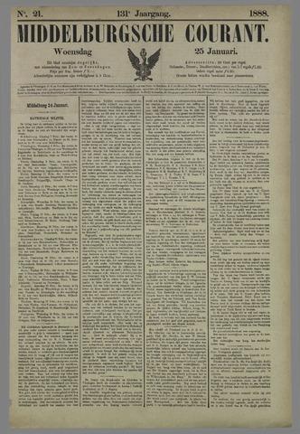 Middelburgsche Courant 1888-01-25