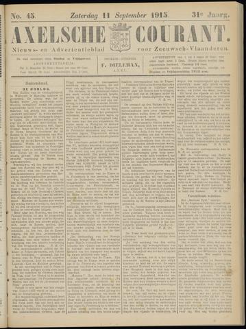 Axelsche Courant 1915-09-11
