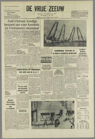 de Vrije Zeeuw 1967-11-13
