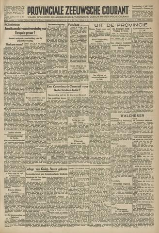 Provinciale Zeeuwse Courant 1946-07-04