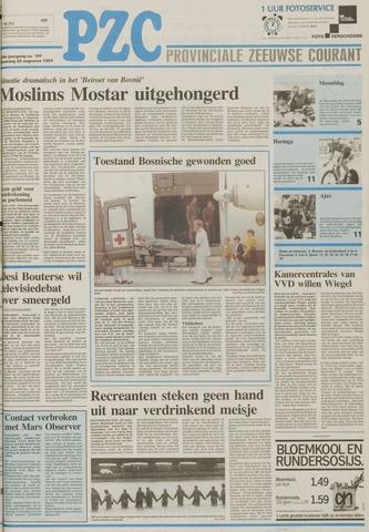 Provinciale Zeeuwse Courant 1993-08-23