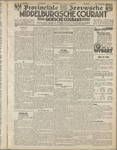 Middelburgsche Courant 1934-01-10