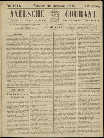 Axelsche Courant 1896-08-22
