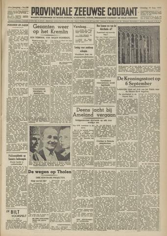 Provinciale Zeeuwse Courant 1948-08-10