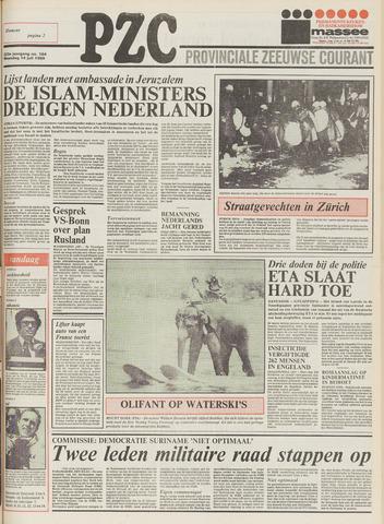 Provinciale Zeeuwse Courant 1980-07-14