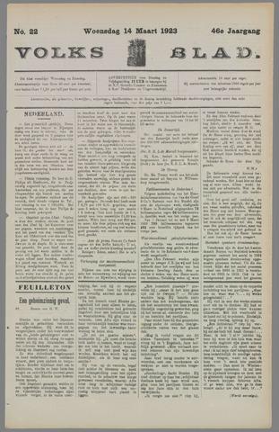 Volksblad 1923-03-14