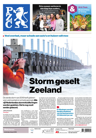 Provinciale Zeeuwse Courant 2018-01-04