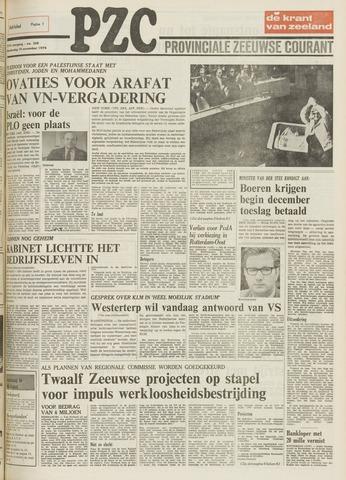 Provinciale Zeeuwse Courant 1974-11-14