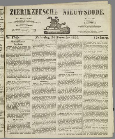 Zierikzeesche Nieuwsbode 1860-11-24