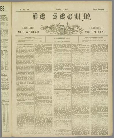 De Zeeuw. Christelijk-historisch nieuwsblad voor Zeeland 1896-05-02