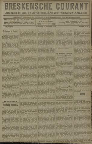 Breskensche Courant 1922-11-29