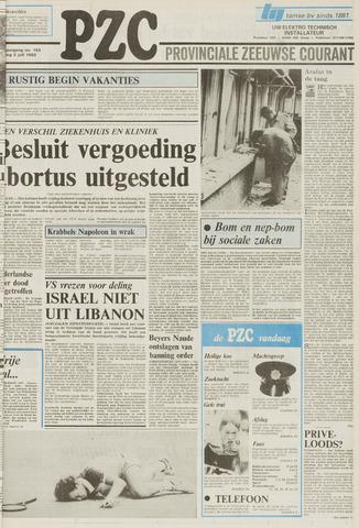 Provinciale Zeeuwse Courant 1983-07-02