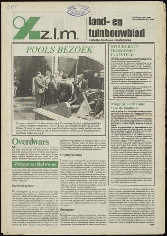 Zeeuwsch landbouwblad ... ZLM land- en tuinbouwblad 1981-05-29