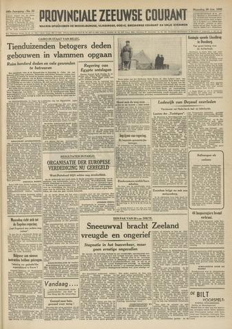 Provinciale Zeeuwse Courant 1952-01-28