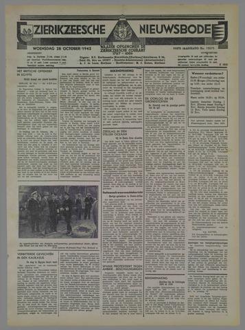 Zierikzeesche Nieuwsbode 1942-10-28