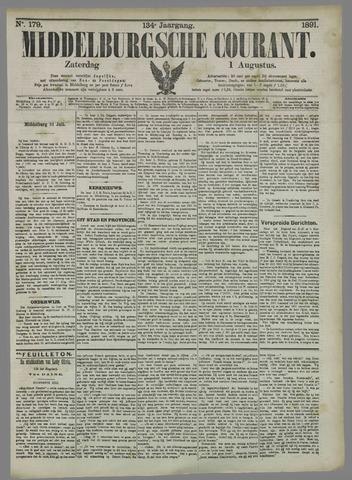Middelburgsche Courant 1891-08-01