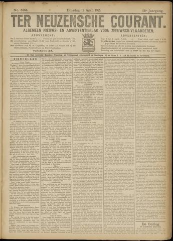 Ter Neuzensche Courant. Algemeen Nieuws- en Advertentieblad voor Zeeuwsch-Vlaanderen / Neuzensche Courant ... (idem) / (Algemeen) nieuws en advertentieblad voor Zeeuwsch-Vlaanderen 1916-04-11