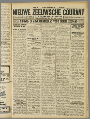 Nieuwe Zeeuwsche Courant 1929-09-14