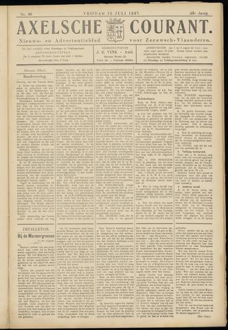 Axelsche Courant 1937-07-16