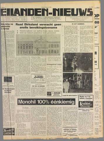 Eilanden-nieuws. Christelijk streekblad op gereformeerde grondslag 1969