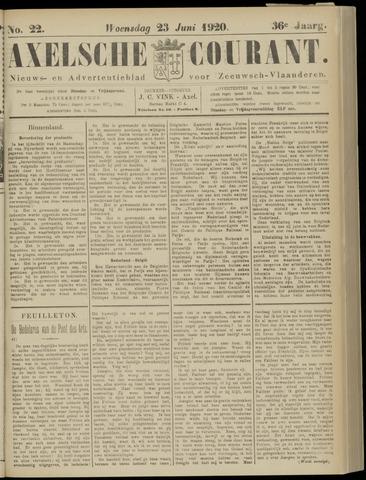 Axelsche Courant 1920-06-23