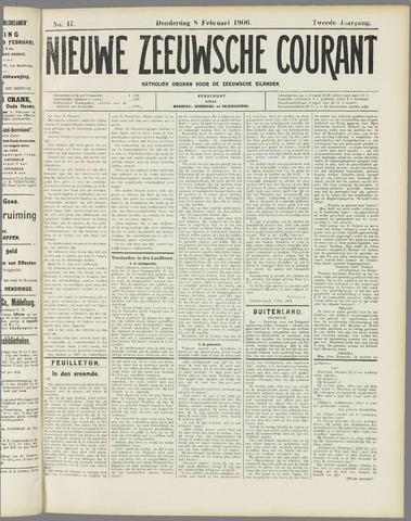 Nieuwe Zeeuwsche Courant 1906-02-08