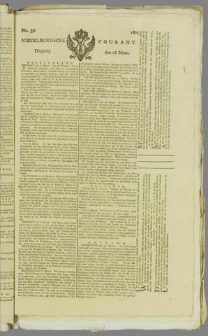 Middelburgsche Courant 1809-03-28