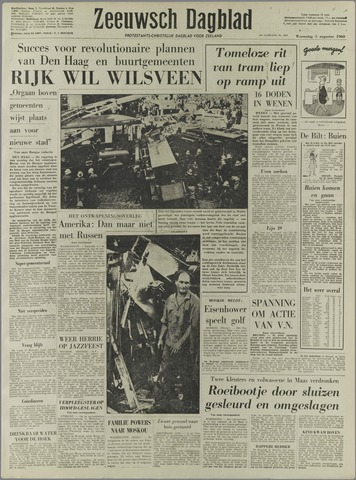 Zeeuwsch Dagblad 1960-08-03