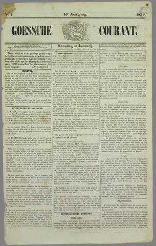 Goessche Courant 1859