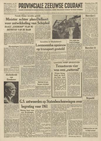 Provinciale Zeeuwse Courant 1961-01-18