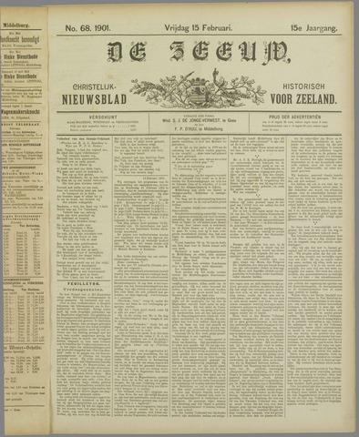 De Zeeuw. Christelijk-historisch nieuwsblad voor Zeeland 1901-02-15