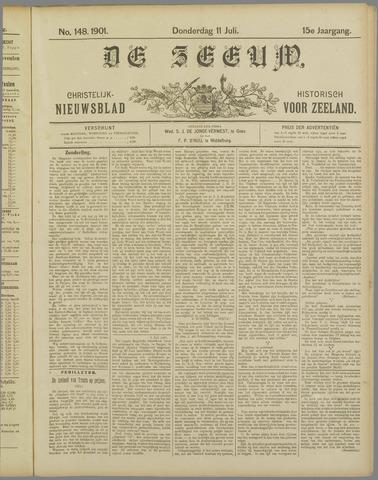 De Zeeuw. Christelijk-historisch nieuwsblad voor Zeeland 1901-07-11