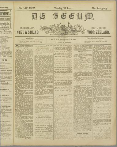 De Zeeuw. Christelijk-historisch nieuwsblad voor Zeeland 1902-06-13