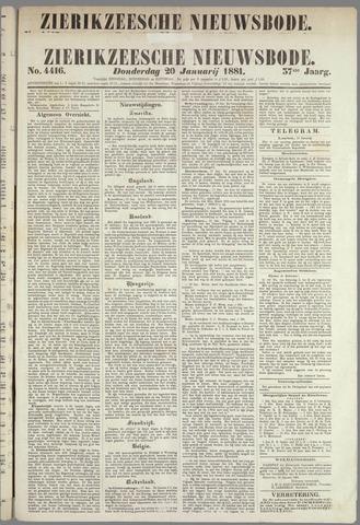 Zierikzeesche Nieuwsbode 1881-01-20