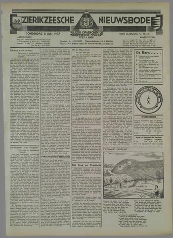 Zierikzeesche Nieuwsbode 1937-07-08