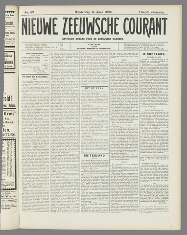 Nieuwe Zeeuwsche Courant 1906-06-14