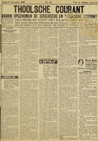 Ierseksche en Thoolsche Courant 1936-11-06