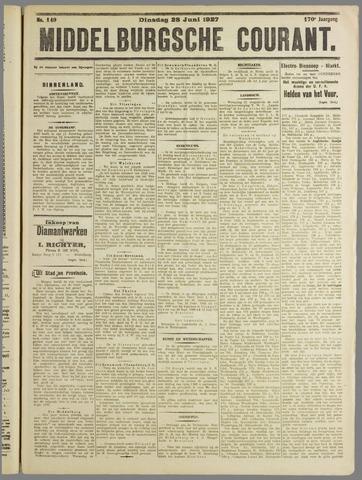 Middelburgsche Courant 1927-06-28