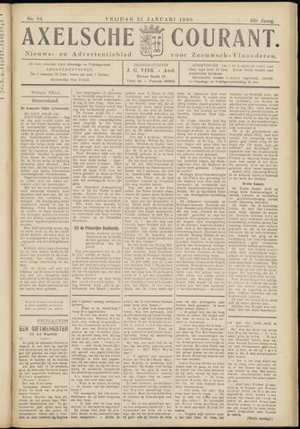 Axelsche Courant 1938-01-21
