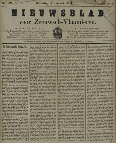Nieuwsblad voor Zeeuwsch-Vlaanderen 1896-01-11