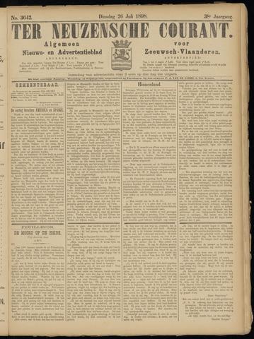 Ter Neuzensche Courant. Algemeen Nieuws- en Advertentieblad voor Zeeuwsch-Vlaanderen / Neuzensche Courant ... (idem) / (Algemeen) nieuws en advertentieblad voor Zeeuwsch-Vlaanderen 1898-07-26