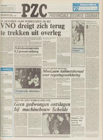 Provinciale Zeeuwse Courant 1981-11-12
