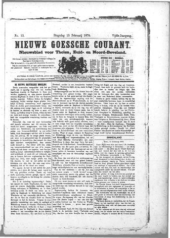 Nieuwe Goessche Courant 1870-02-15