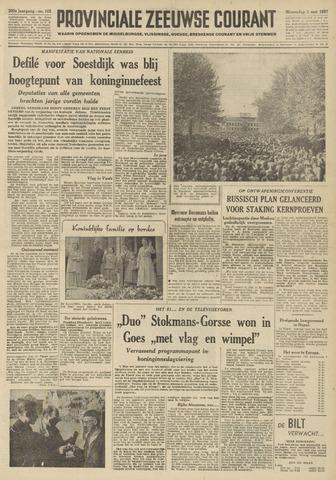 Provinciale Zeeuwse Courant 1957-05-01