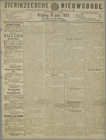 Zierikzeesche Nieuwsbode 1917-07-06