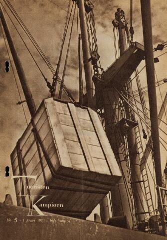 Watersnood documentatie 1953 - tijdschriften 1953-03-01